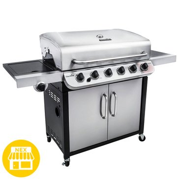 Char-Broil Performance Series 6-Burner Cabinet Gas Grill w/ Sideburner