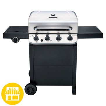 Char-Broil Performance Series 4-Burner Cabinet Gas Grill w/ Sideburner