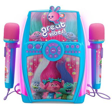 Trolls Deluxe Sing Along Boombox with Dual Microphone