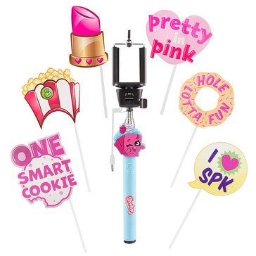 Shopkins Molder Selfie Stick with Prop Kit