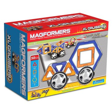 Magformers XL Cruisers 32-Piece Car Set