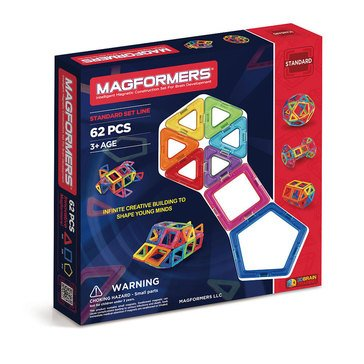 Magformers Rainbow 62-Piece Set