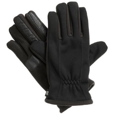Totes-Isotoner Glove - Smart Touch Ultra Dry Wicking Fleece-Black