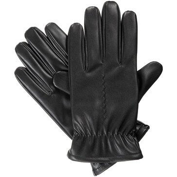 Totes-Isotoner Glove - Smart Touch Faux Nappa Fleece-Black