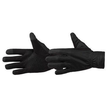 Totes-Isotoner Glove -Silk Weight Windstopper- Black