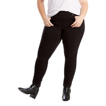 Levi's Women's Perfectly Shaping Pull On Leggings Black Wave 30