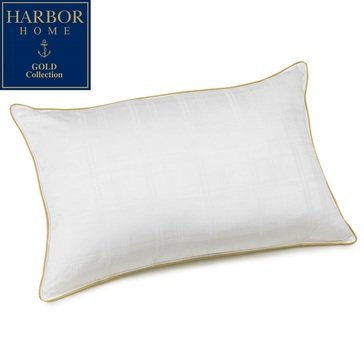 Harbor Home Gold Pillow