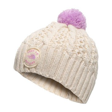 The North Face Baby Girls' Minna Beanie, Vintage White