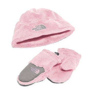 The North Face Baby Girls' Oso Cute Boxed Set, Pink