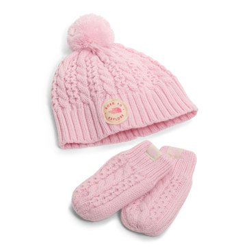 The North Face Baby Girls' Minna Boxed Set, Pink
