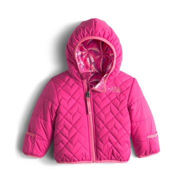 The North Face Baby Girls' Reversible Perrito Jacket, Coy Pink