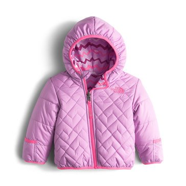 The North Face Baby Girls' Reversible Perrito Jacket, Lupine