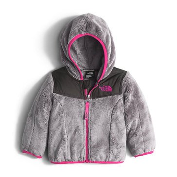 The North Face Baby Girls' Oso Hoodie, Metallic Silver
