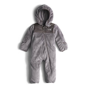 The North Face Baby Girls' Oso One Piece, Metallic Silver