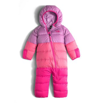 The North Face Baby Girls' Lil Snuggler Down Suit, Pink