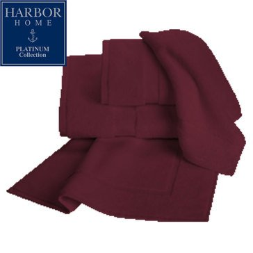 Platinum Collection Bath Sheet, Merlot