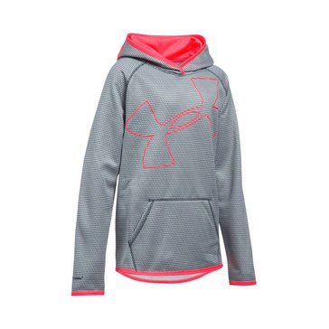 Under Armour Girls' Novelty Highlight Hoodie Grey
