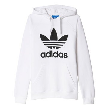 Adidas Original 3 Foil White Fleece Hoodie