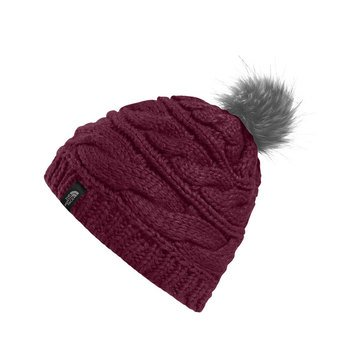 The North Face Women's Triple Cable Fur Pom Pom