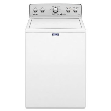 Maytag 3.5-Cu.Ft. Top Load Washer, White (MVWC416FW)