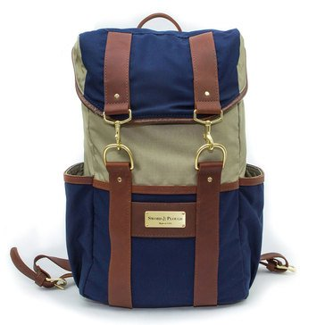 Sword and Plough Signature Ruck Backpack Blue