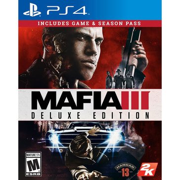 PS4 Mafia III Deluxe Edition