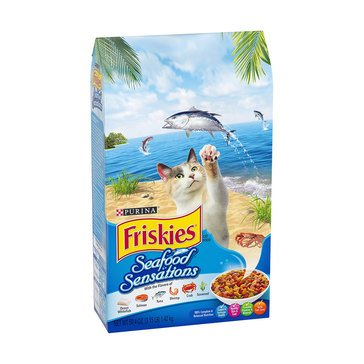 Purina Friskies Seafood Sensations Adult Cat Food