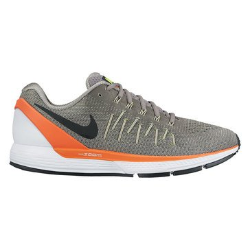 Nike Air Zoom Odyssey 2 Men's Running Shoe Dust/ Black/ Hyper Orange/ Volt