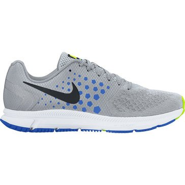 Nike Zoom Span Men's Running Shoe Wolf Grey/ Black/ Hyper Cobalt