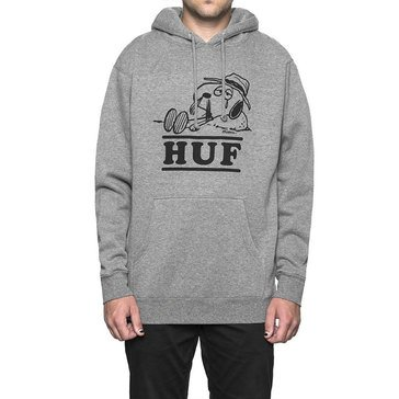 Huf Men's Spike Needles Pull Over Snoop Fleece Hoody