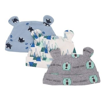 Rosie Pope Baby Boys' 3 Pack Cap