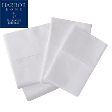 Platinum Collection 400 Thread-Count Hygro Sheet Set, White - Queen