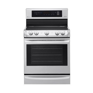 LG 6.3-Cu.Ft. Single Oven Electric Range, Stainless Steel (LRE4213ST)