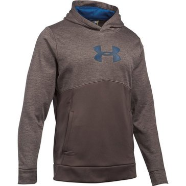 Under Armour New UA Logo Twist Hoodie Brown