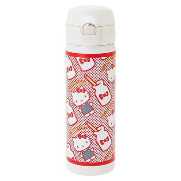 Hello Kitty Holiday Stainless Steel Bottle, Red Dots