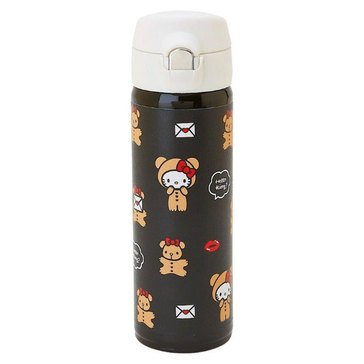 Hello Kitty Holiday Stainless Steel Bottle, Lip Bear