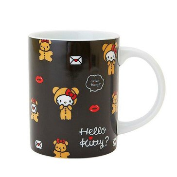 Hello Kitty Holiday Ceramic Mug, Lip Bear