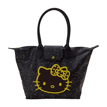 Hello Kitty Wink Gold Shoulder Tote