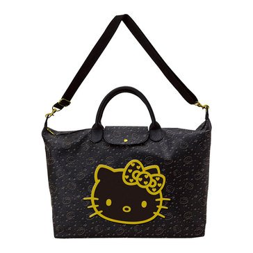 Hello Kitty Wink Gold Overnight Bag