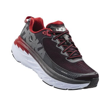 Hoka One One Bondi 5 Men's Running Shoe Black/  Formula One