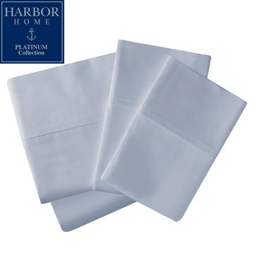 Platinum Collection 400 Thread-Count Hygro Sheet Set, Sky Blue - Twin