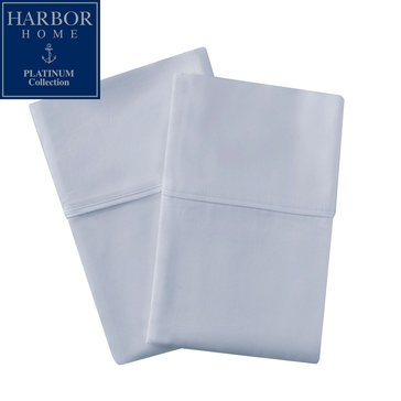 Platinum Collection 400 Thread-Count Hygro Pillowcase, Sky Blue - Standard
