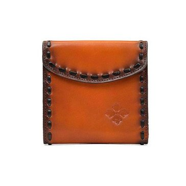 Patricia Nash Reiti Bi Fold Wallet in Burned Veg Tan