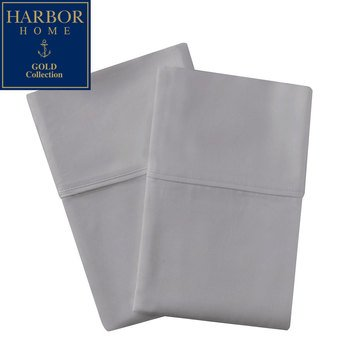 Gold Collection 350 Thread-Count Percale Pillowcase, Titanium - Standard