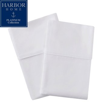 Platinum Collection 500 Thread-Count Pillowcase, White - King