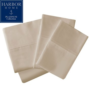 Harbor Home Platinum Collection 500 Thread Count Sheet Set