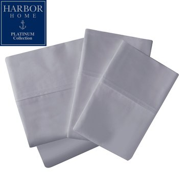 Platinum Collection 500 Thread-Count Sheet Set, Soft Silver - King
