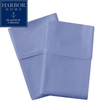 Platinum Collection 500 Thread-Count Pillowcase, Dutch Blue - Standard