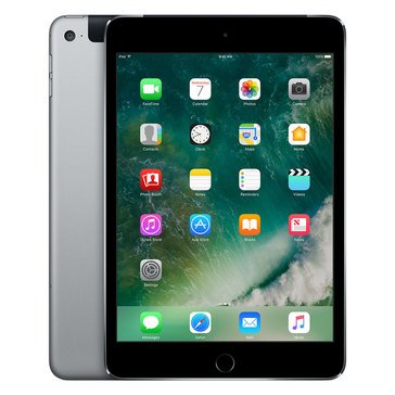 Apple iPad Mini 4 Cellular - 32GB - Gray (MNWP2LL/A)