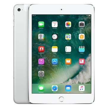Apple iPad Mini 4 Cellular - 32GB - Silver (MNWQ2LL/A)